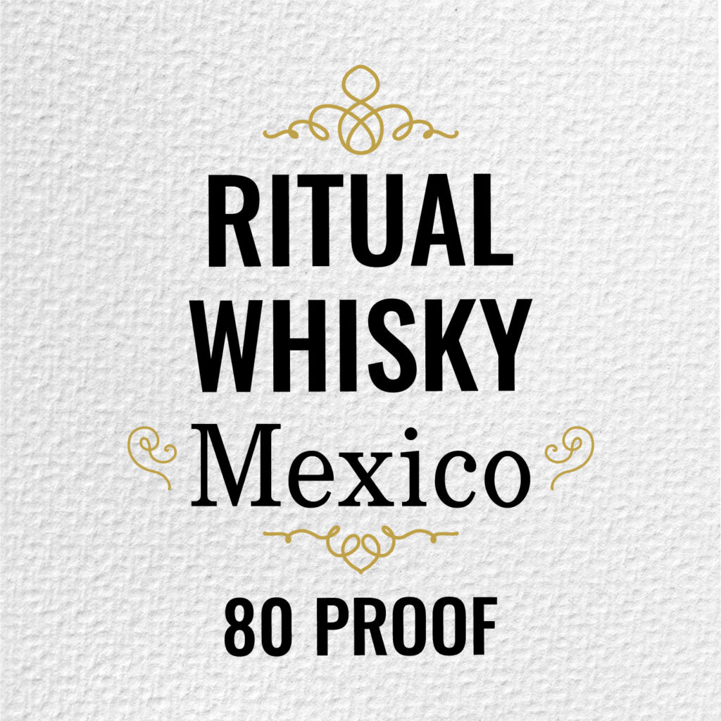 Ritual Whisky Mexico 80 proof