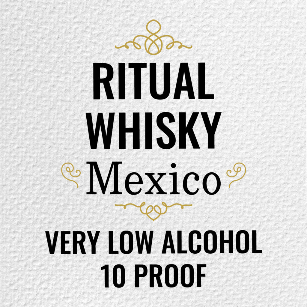 Ritual Whisky Mexico low alcohol